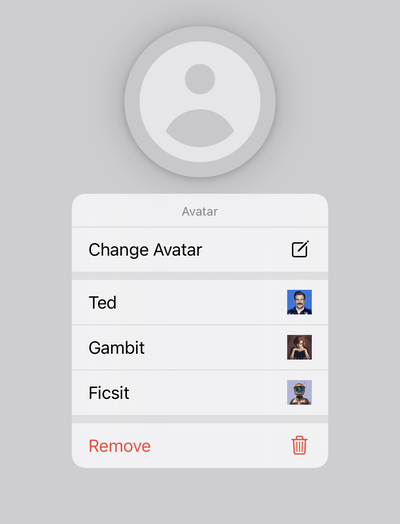 displaying nested menu inline